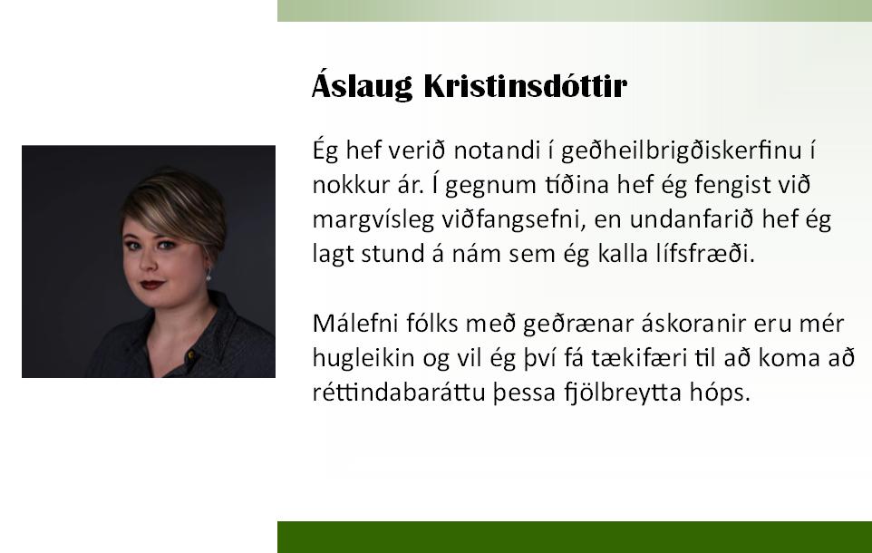 Áslaug 2018 framboð