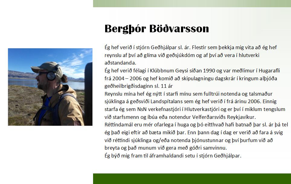 Bergþór 2018 framboð_2