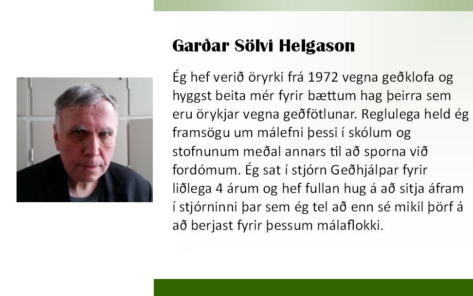 Garðar 2018 framboð