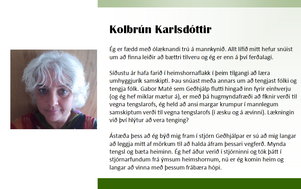 Kolbrún 2018 framboð